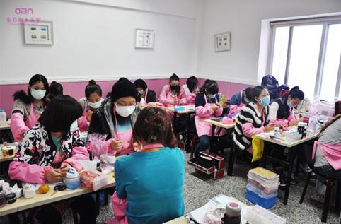 东方丽人美甲学校环境【一教室】